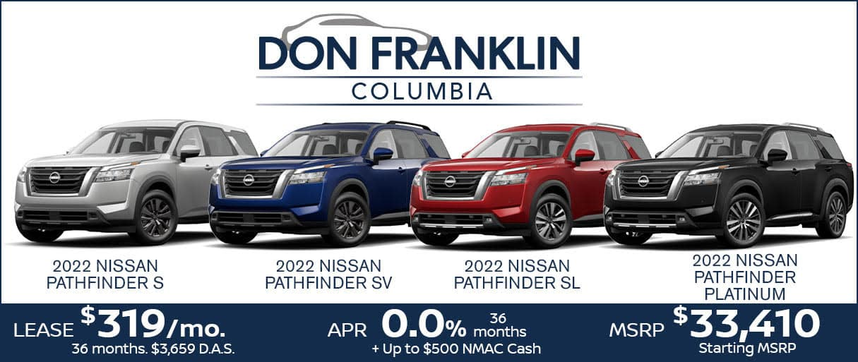 Pathfinder Lease Sale $319 a month for 36 moonths