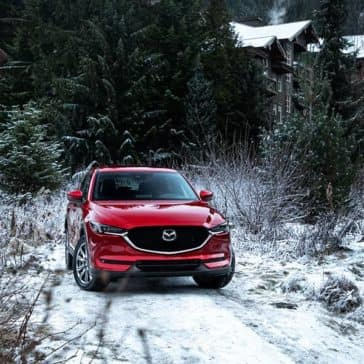 2019 Mazda CX-5 In the Snow