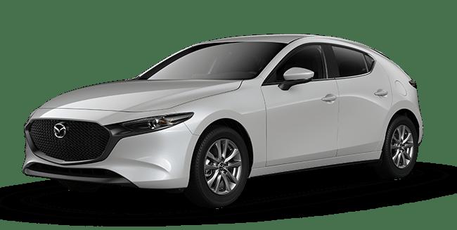 2019 Mazda3 Sport White