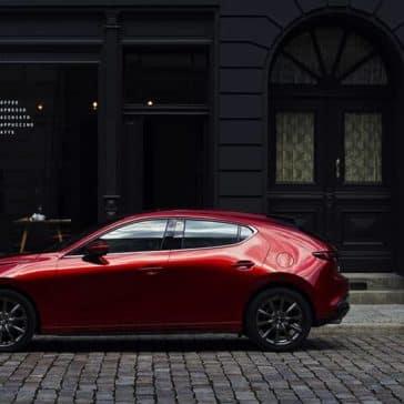 2019 Mazda3 Sport Side View CA