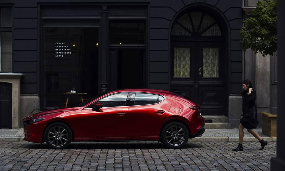 2019 Mazda3 Sport Side View CA