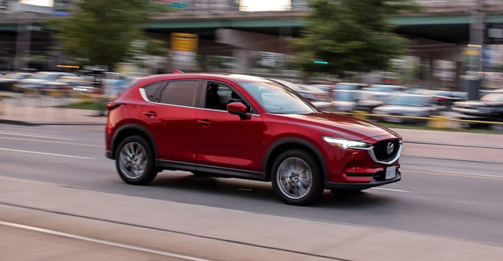 2020 Mazda CX-5 Driving CA
