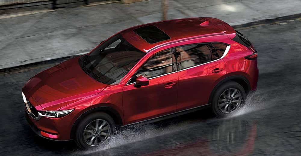 2020 Mazda CX-5 In The Rain CA