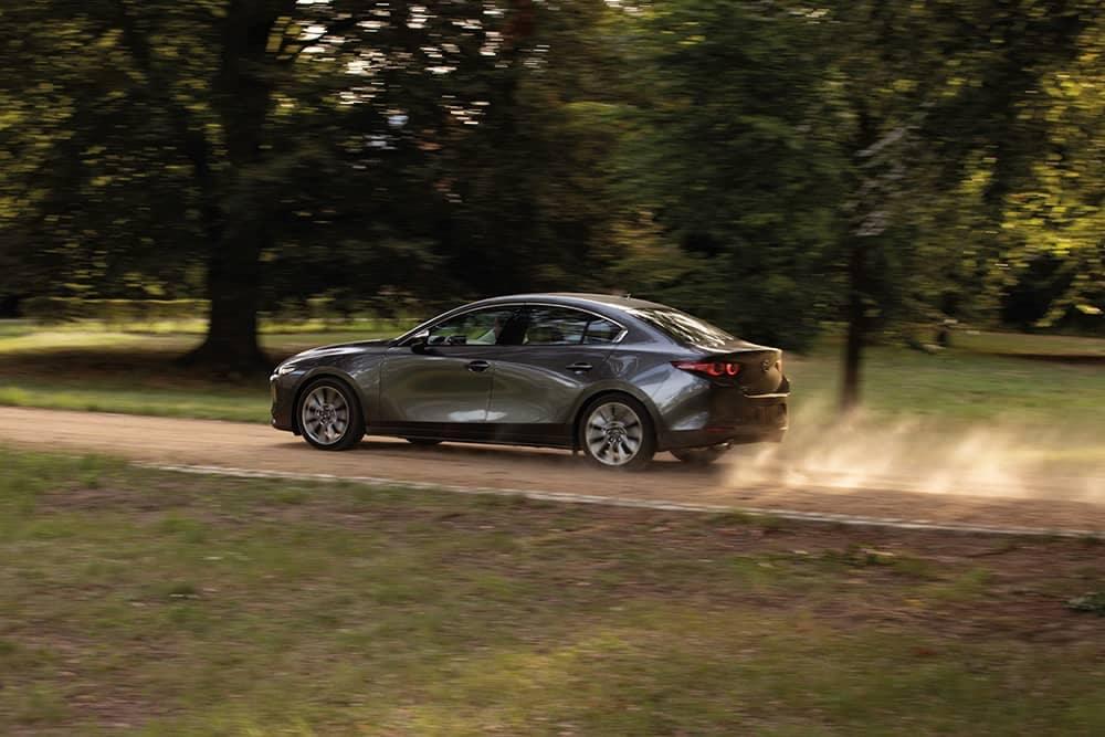 2020 Mazda3 Driving