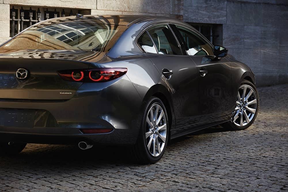 2020 Mazda3 Rear