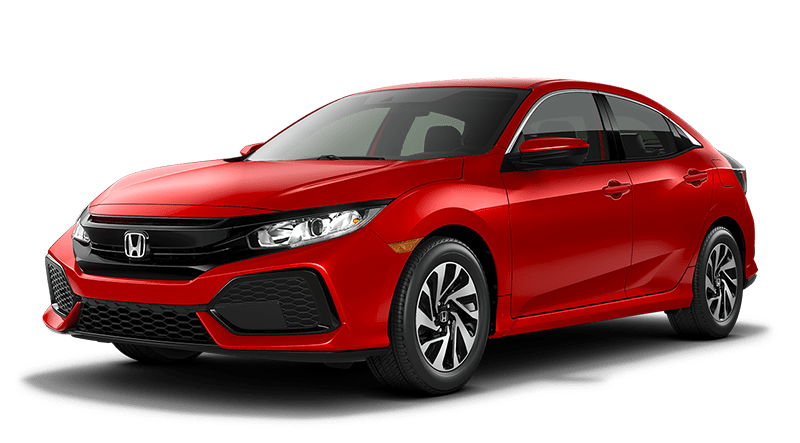 2019 Honda Civic Hatchback Red
