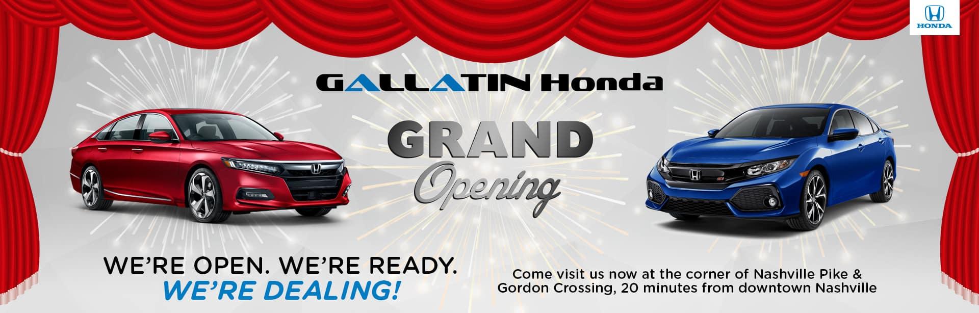 Owners Honda Com >> Gallatin Honda New Honda Dealership Serving Nashville Tn