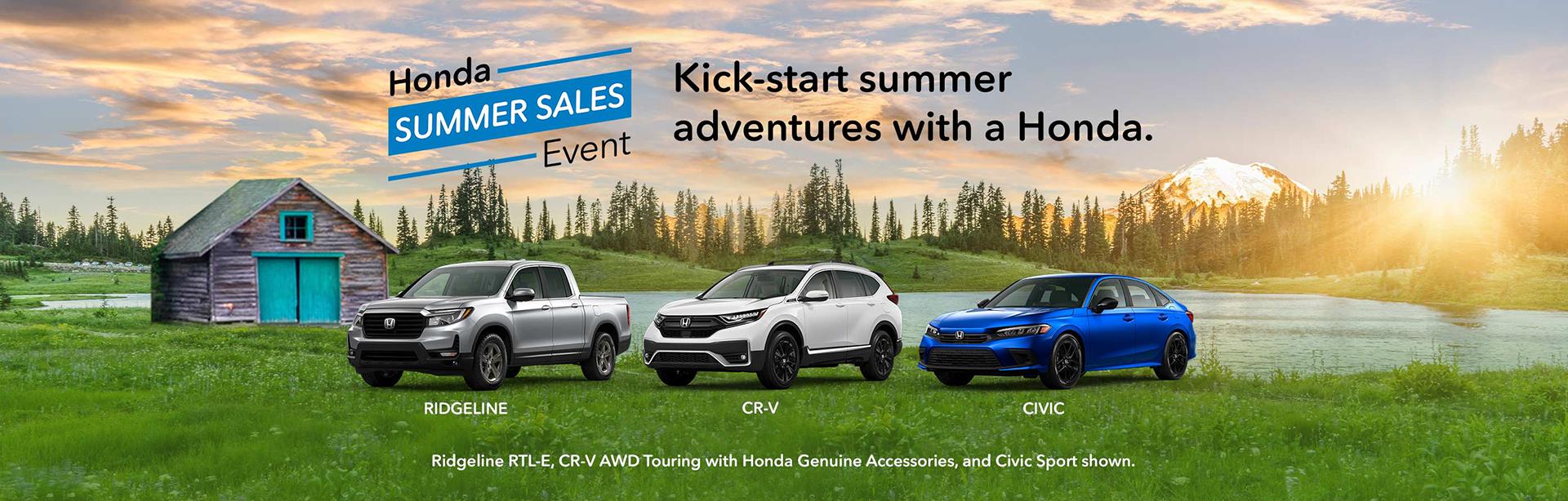 Gallatin Honda Summer Sales Event
