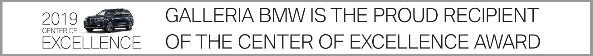 Galleria BMW Center of Excellence