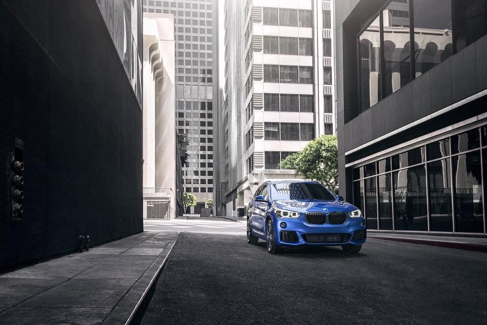 2018 BMW X1 Blue