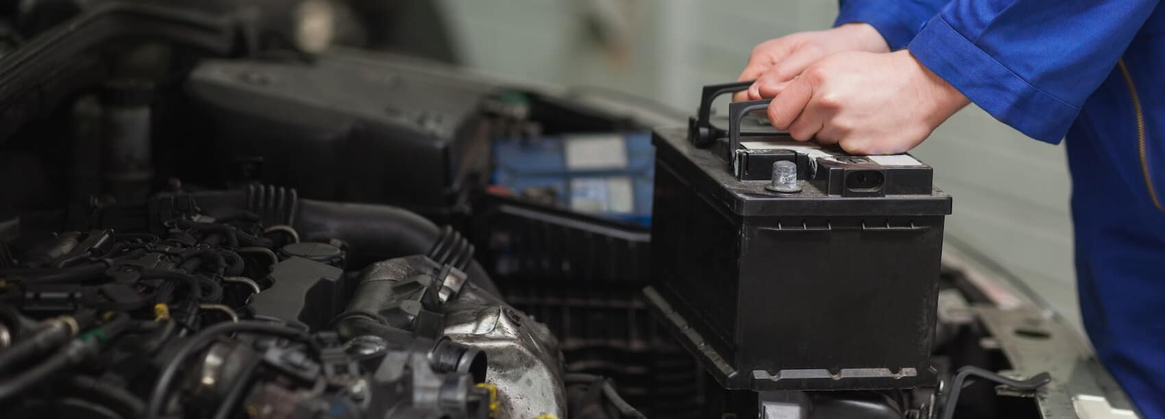 Replacing the car battery