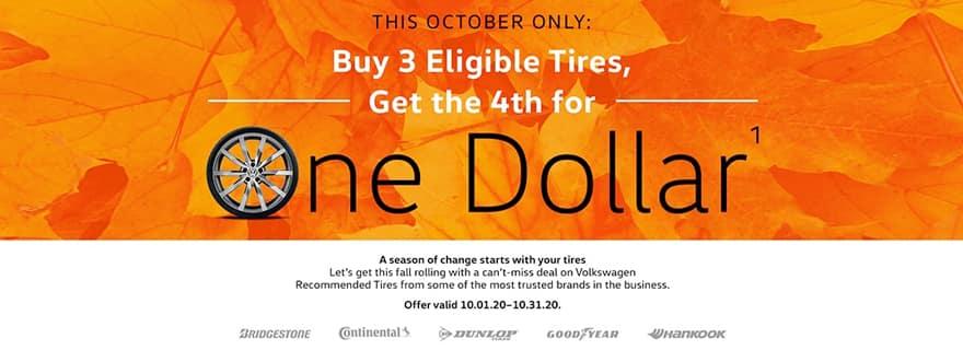 October Tire Offer