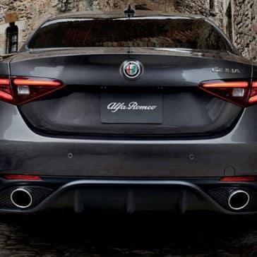 2019 Alfa Romeo Rear