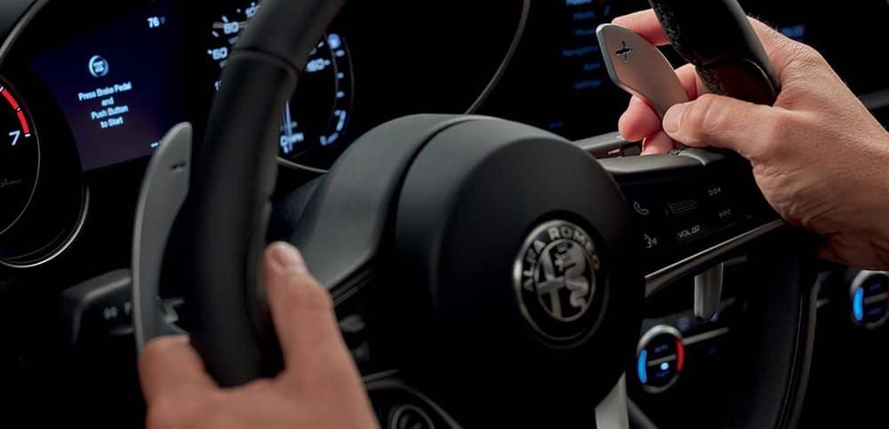 2019 Alfa Romeo Steering Wheel