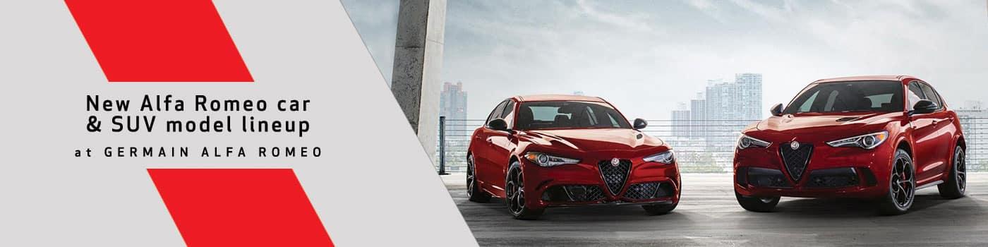 Alfa Romeo Model Lineup Page at Germain Alfa Romeo