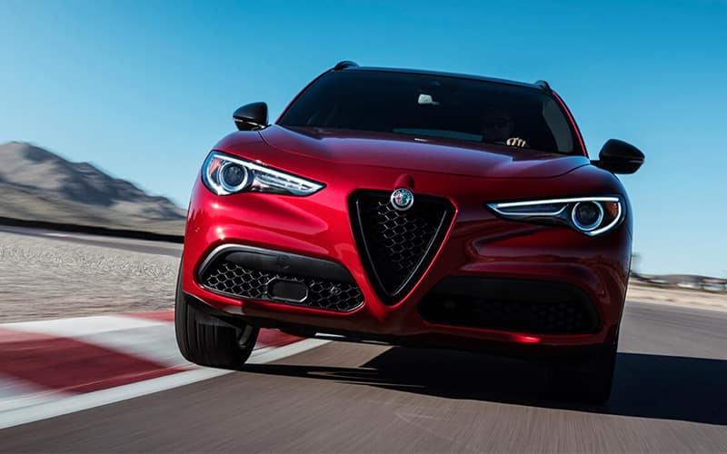 Alfa Romeo Stelvio Front Grille