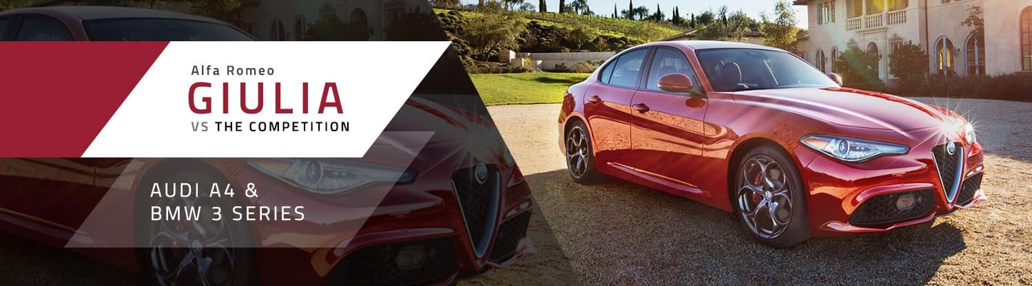 Alfa Romeo Giulia vs The Competition at Germain Alfa Romeo of Columbus