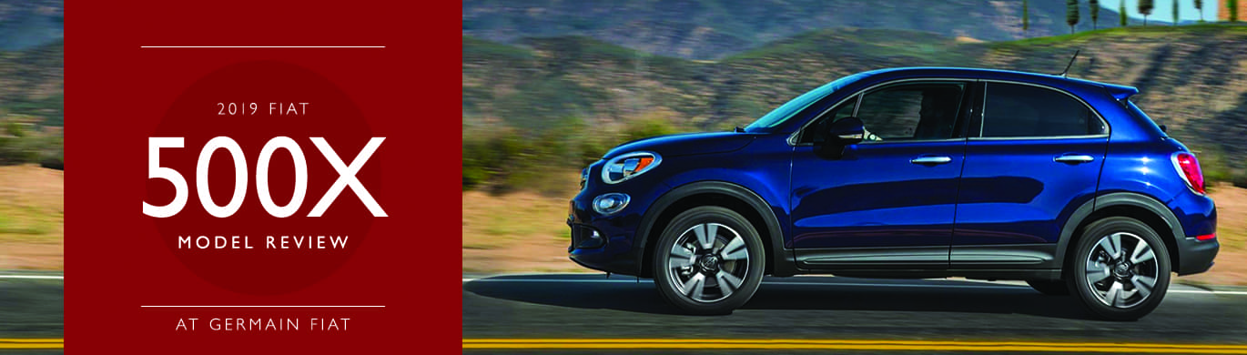 2019 FIAT 500X Model Overview at Germain FIAT of Columbus