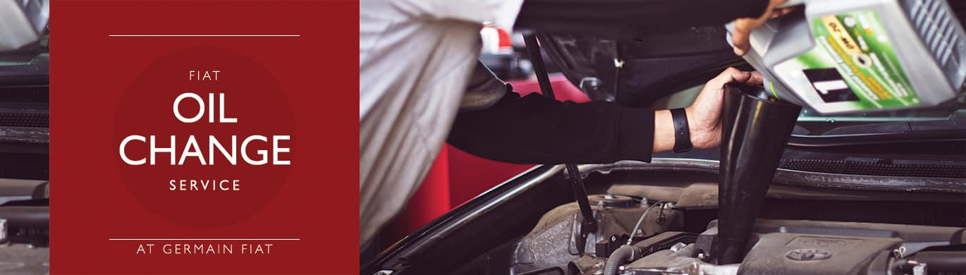FIAT Oil Change Service at Germain FIAT of Columbus