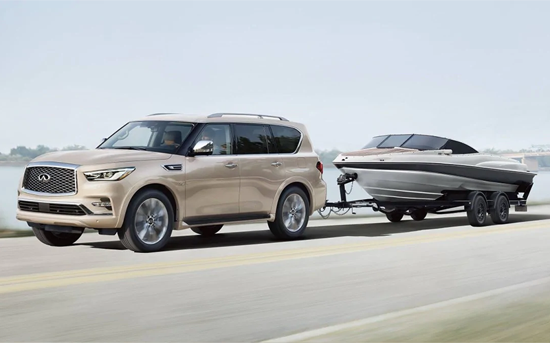 2019 INFINITI QX80 Towing