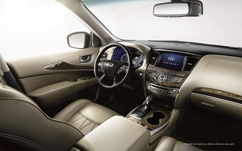 2019 INFINITI QX60 Interior First Row
