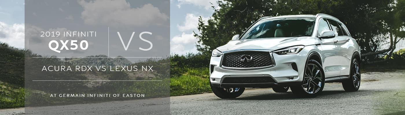 INFINITI QX60 vs Acura MDX vs Lexus GX Comparison at Germain INFINITI of Easton