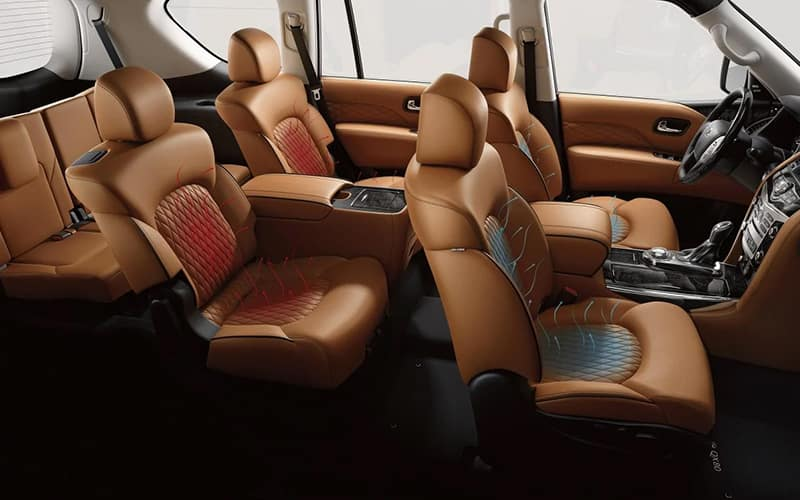 2019 INFINITI QX80 Interior Seating