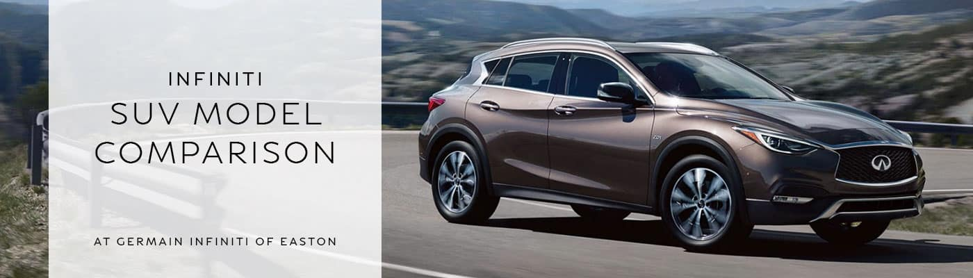 INFINITI SUV Model Comparison at INFINITI of Easton