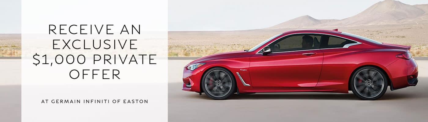INFINITI Owner Loyalty Offer Page - INFINITI of Easton