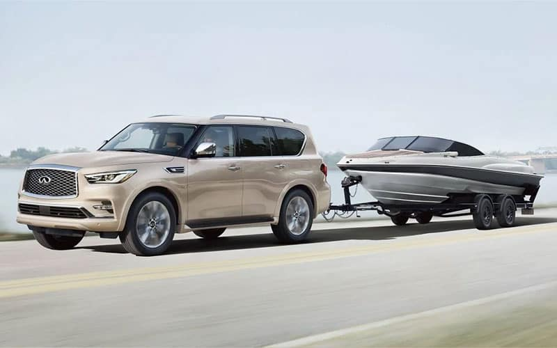 INFINITI QX80 Towing