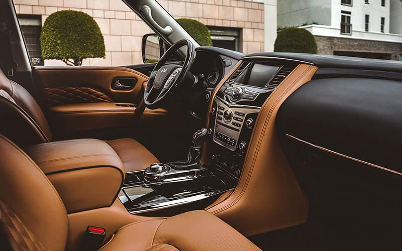 INFINITI QX80 Semi Aniline Leather
