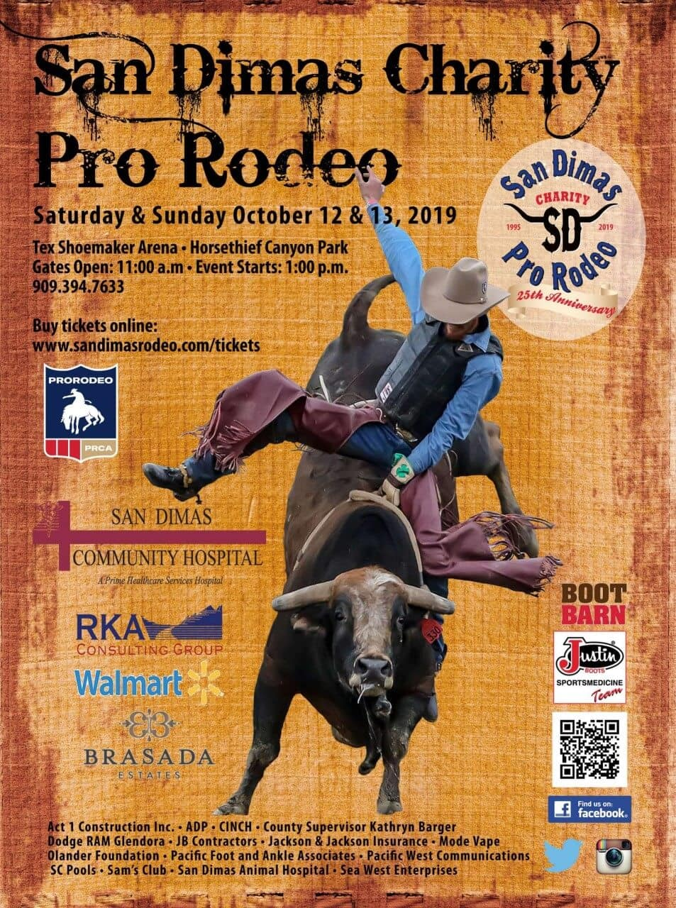 San Dimas Charity Pro Rodeo