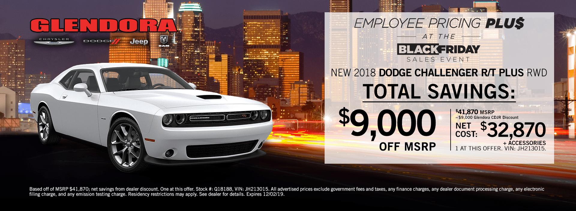 Dodge Challenger Special Deals