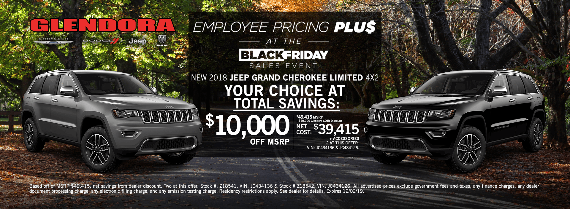 Jeep Grand Cherokee Special Deals