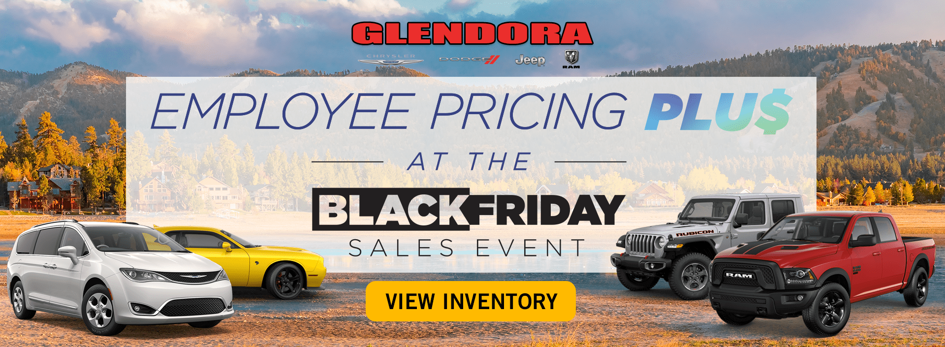 Black Friday - Employee Pricing Deals