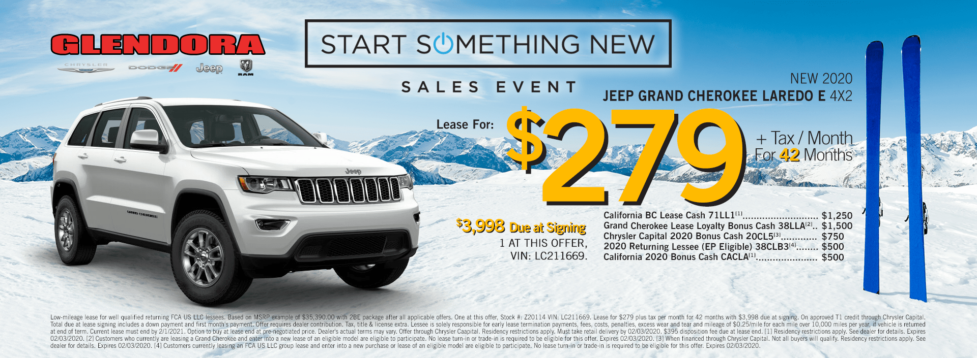 Grand Cherokee Lease Inventory