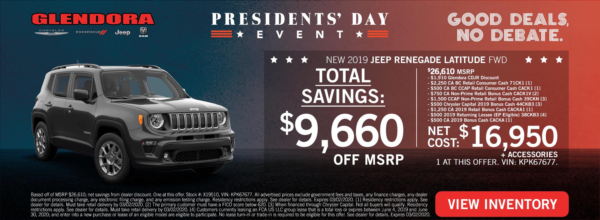 Jeep Renegade Deal