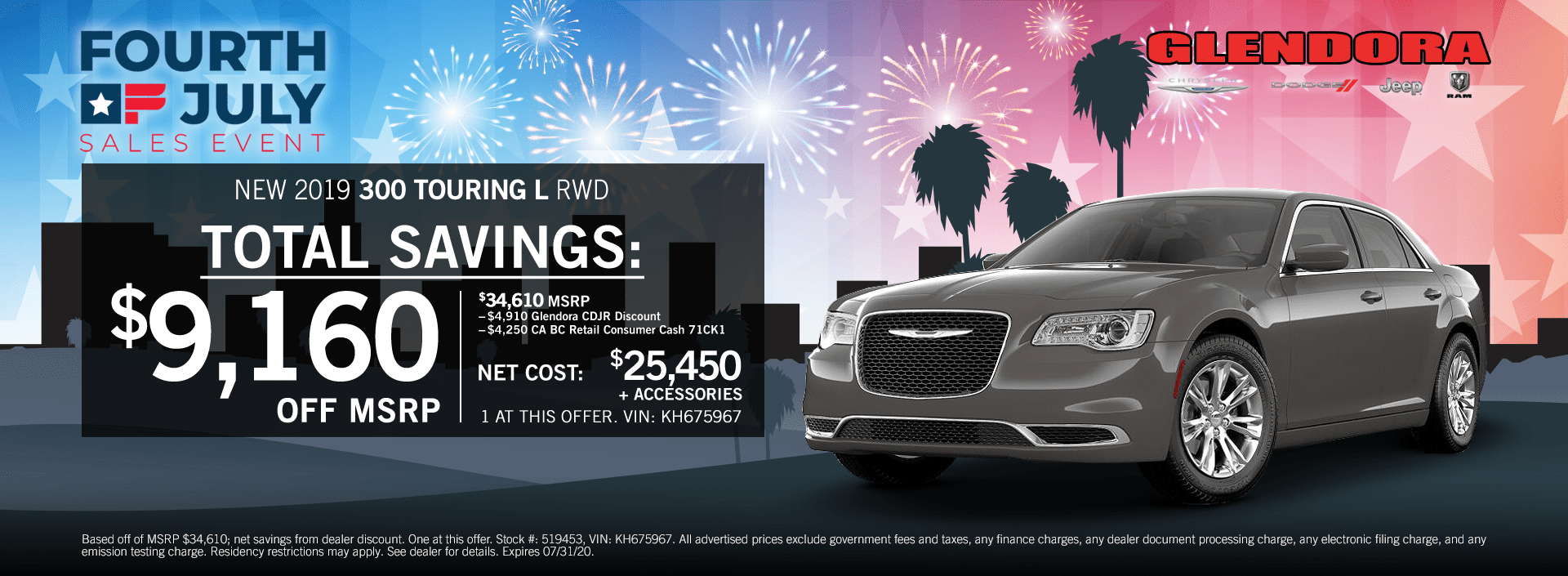 4th of July Chrysler 300 Special