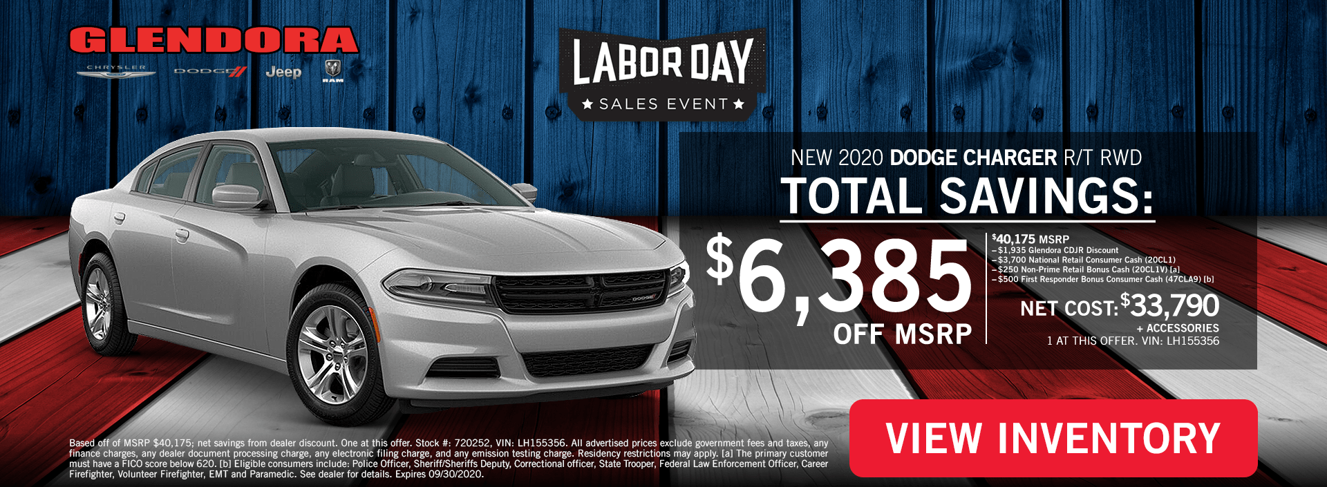 Labor Day Deals - Dodge Charger