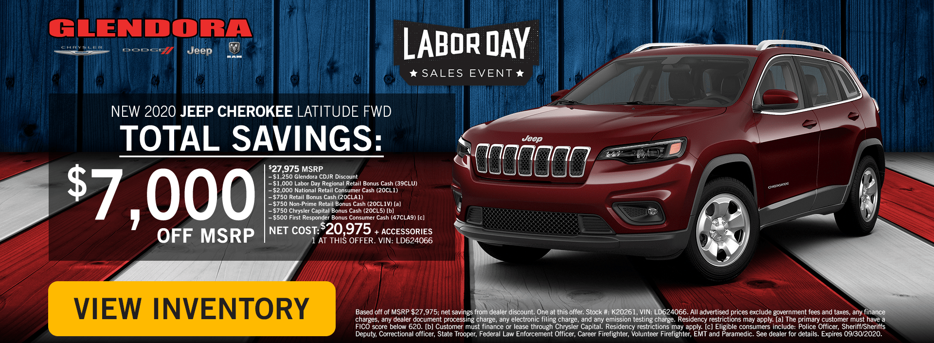 Labor Day Deals - Jeep Cherokee