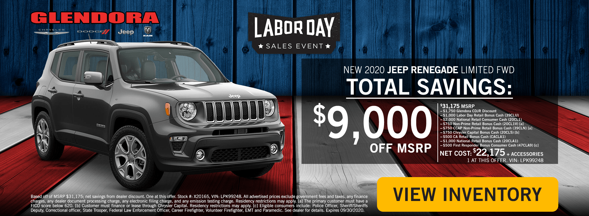 Labor Day Deals - Jeep Renegade