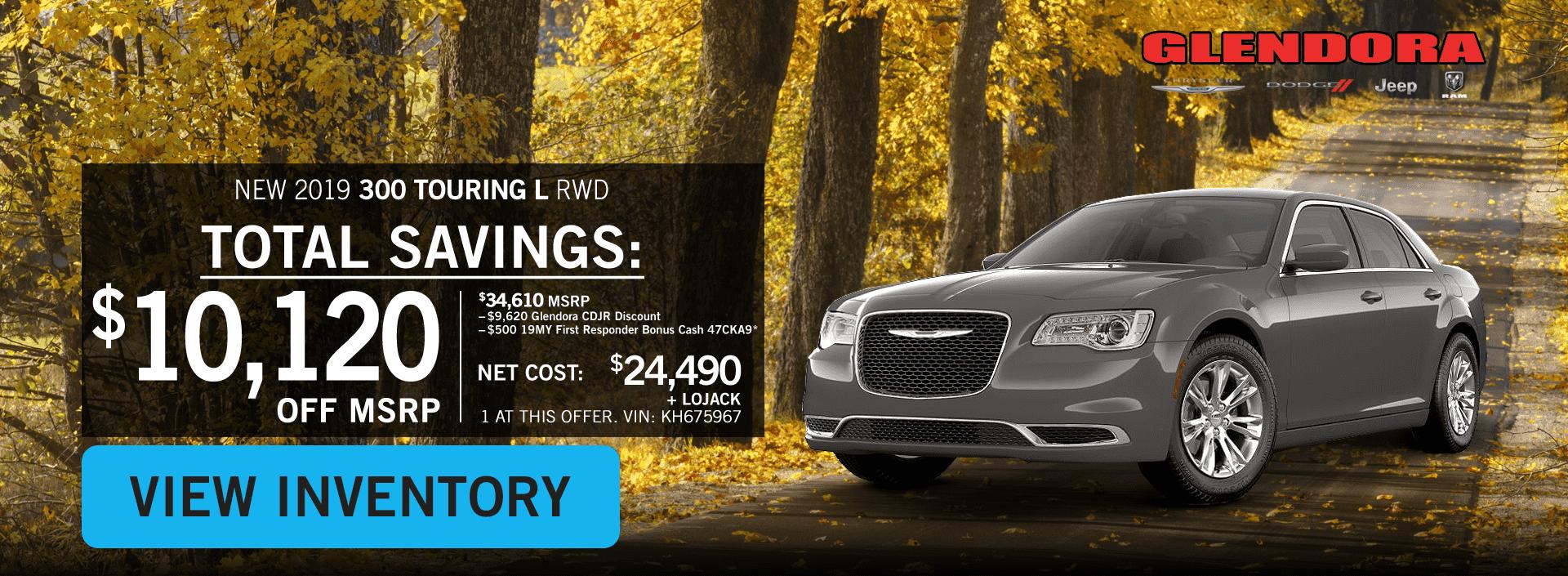 Glendora_CDJR_2020_October_Deals_Family_Pricing_Chrysler_300_Home