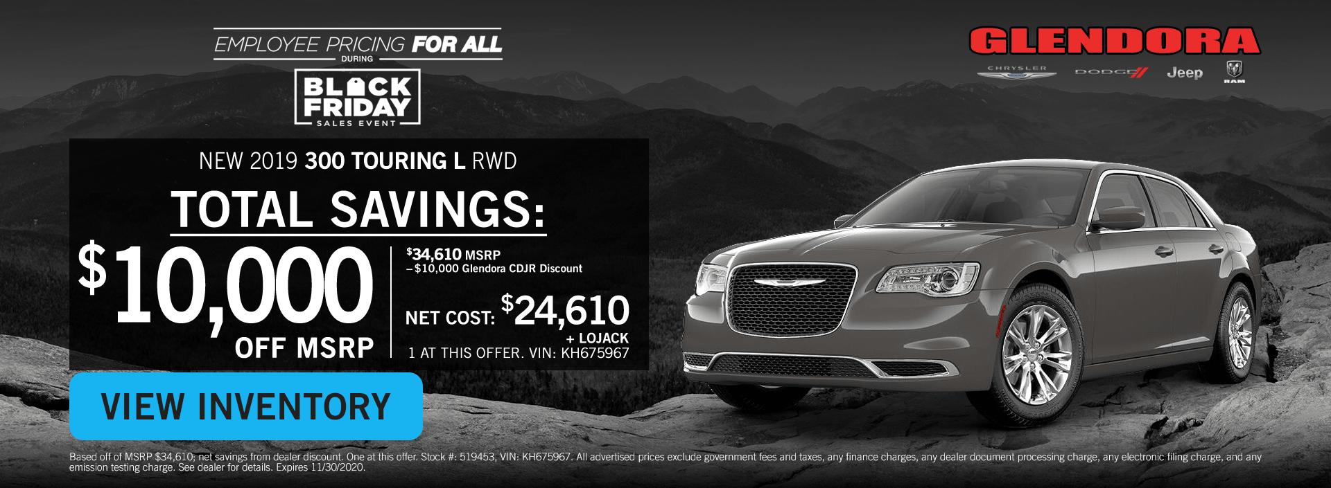 Black Friday Chrysler 300 Deals Chrysler 300 Special