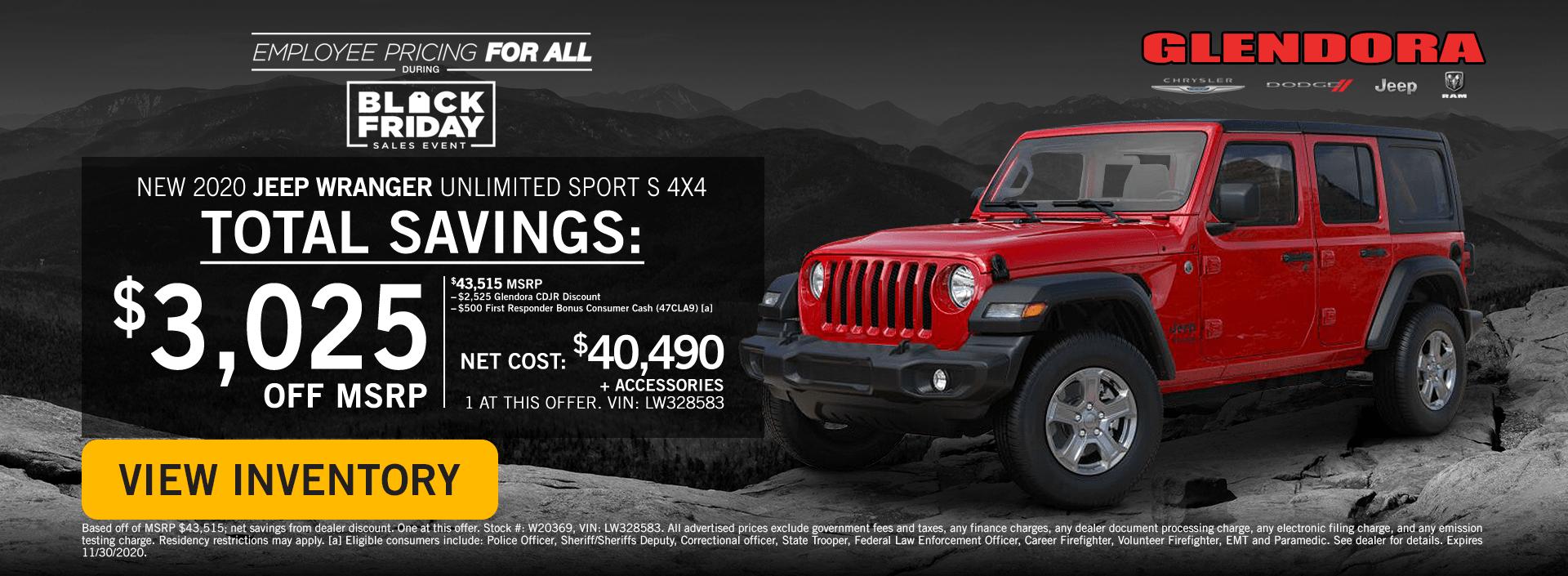 Black Friday Jeep Wrangler Deals Jeep Wrangler Special