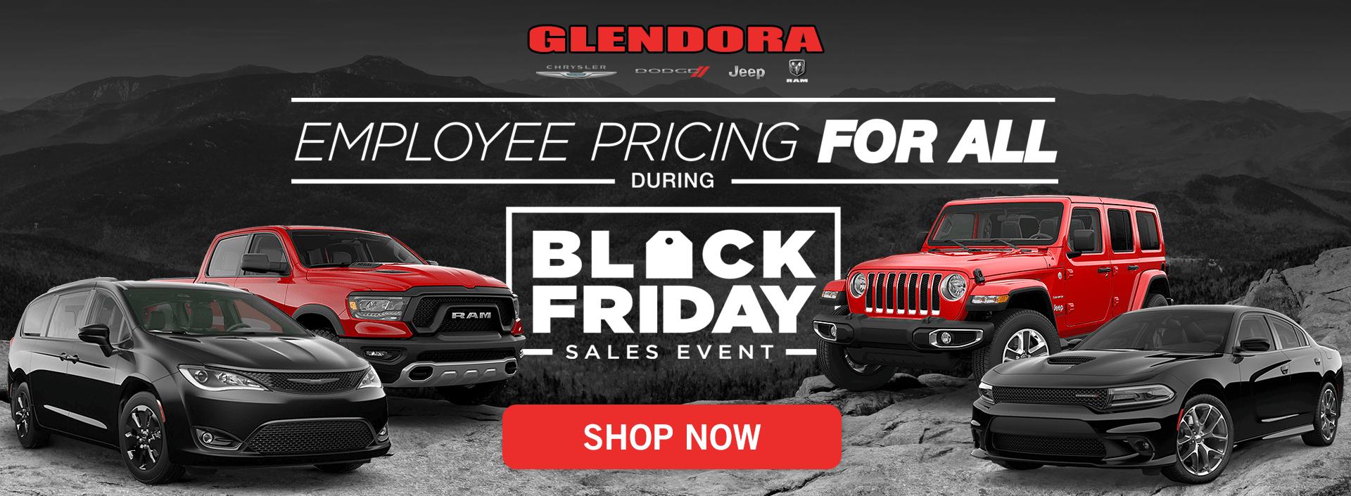 Chrysler Dodge Jeep Ram Black Friday Deals