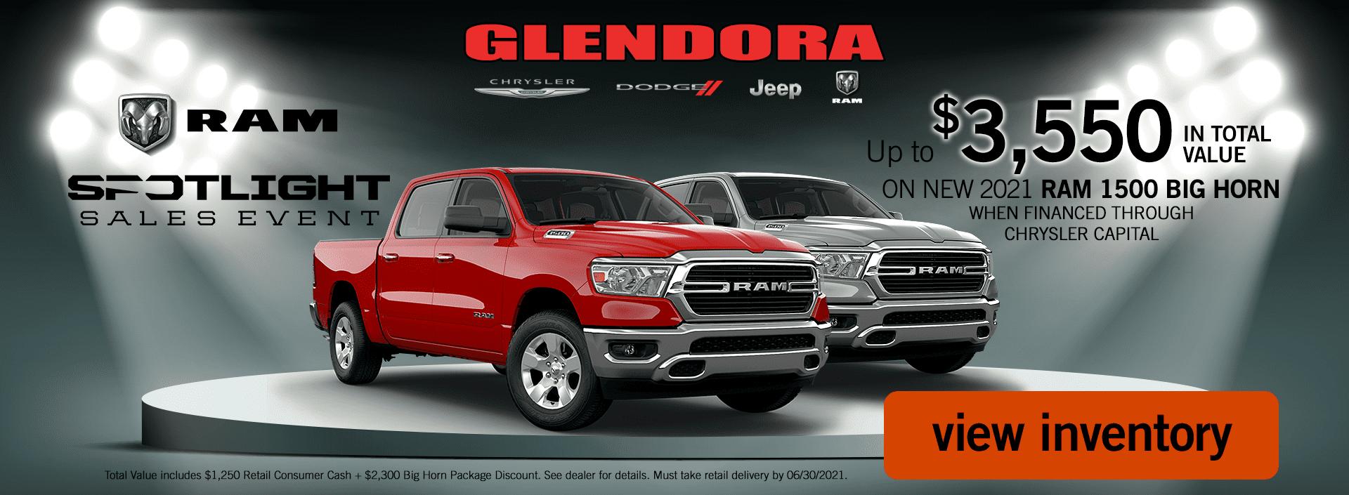 Glendora_CDJR_2021_June_Ram_Spotlight_Sales_Event_Ram_1500_Deal