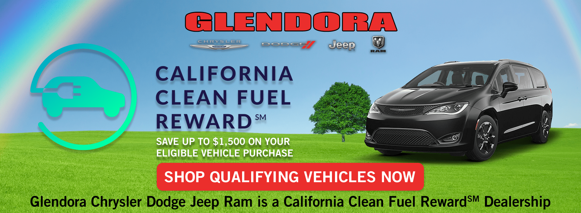 California Clean Fuel Reward Chrysler Pacifica