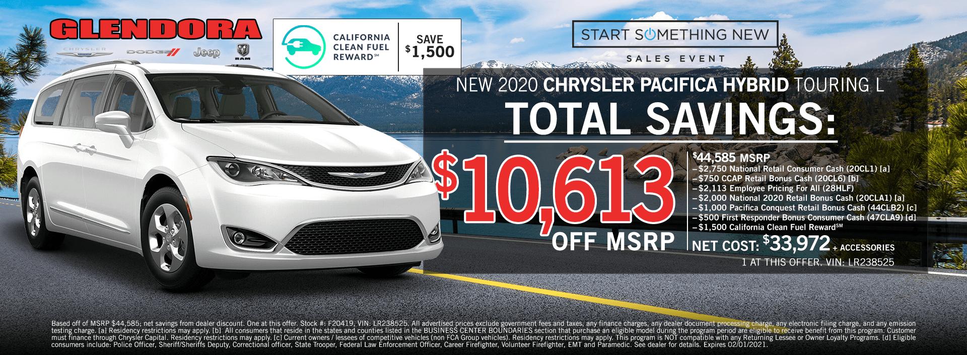 Chrysler Pacifica Deals