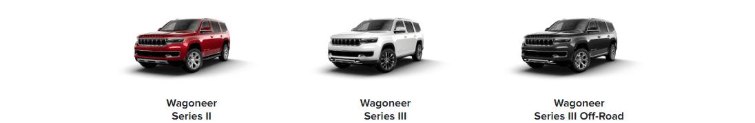 Jeep Wagoneer Models Trims Los Angeles