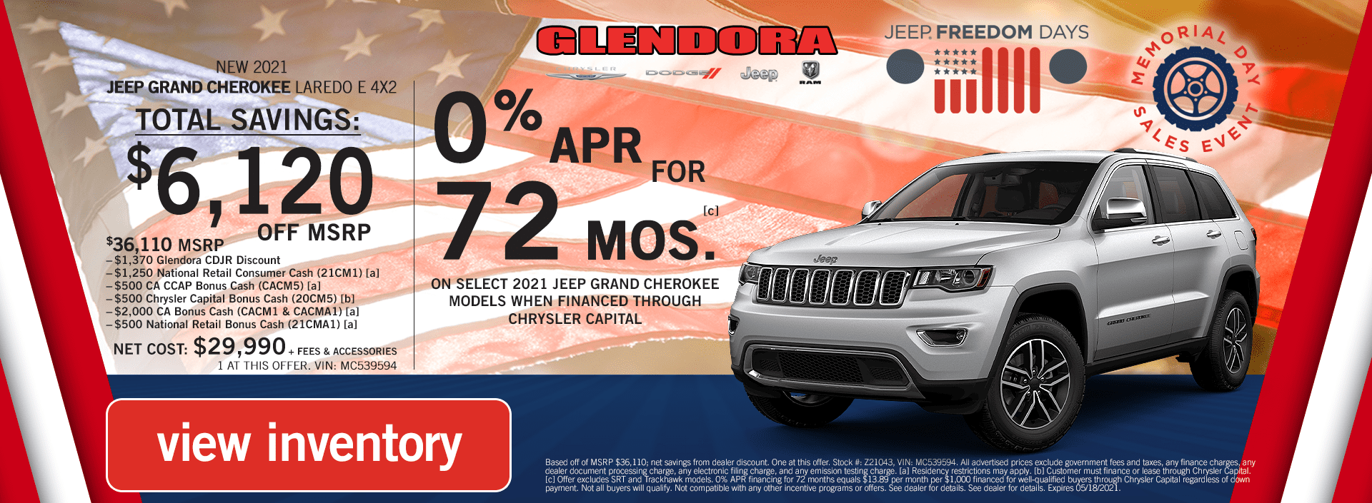 Jeep Grand Cherokee Deals Memorial Day Sales Event